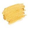 Festive metallic gold paint brush stroke