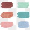 Colorful watercolor brush strokes transparent png