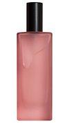 Pink blank perfume glass bottle design element