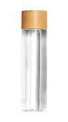 Beauty care glass bottle design element
