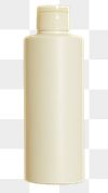 Beige beauty care bottle design element