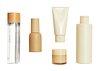 Beauty products design element set