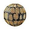 Wood patterned decorative ball design element
