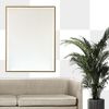Wall png mockup transparent living room with picture frame home interior