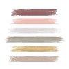 Pastel acrylic brush strokes transparent png