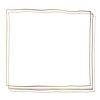 Brown doodle frame transparent png