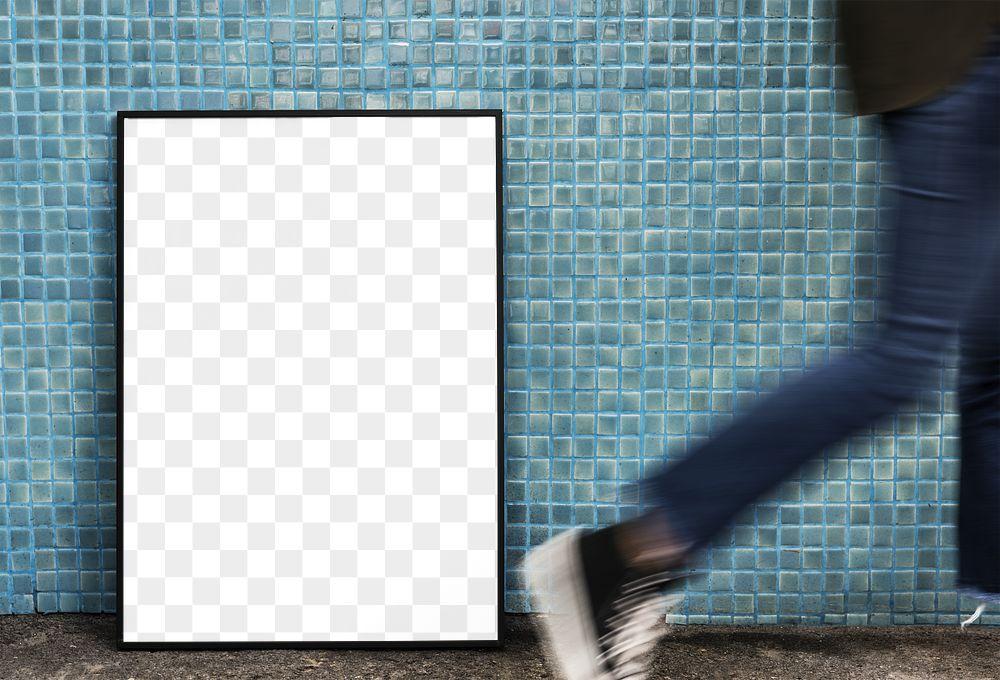 Picture frame mockup transparent png