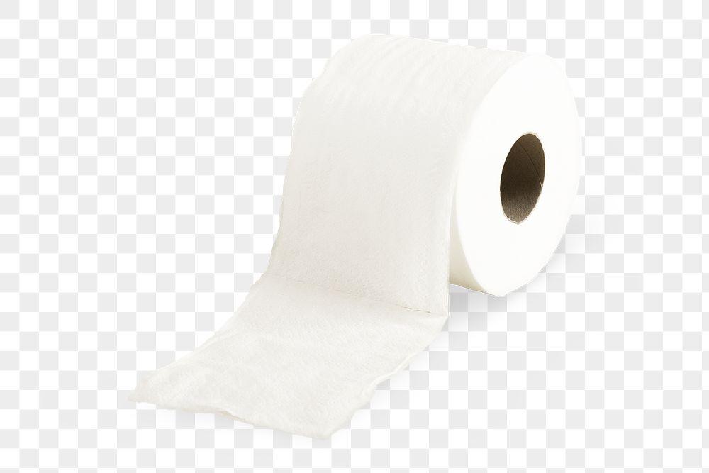 Toilet tissue element transparent png