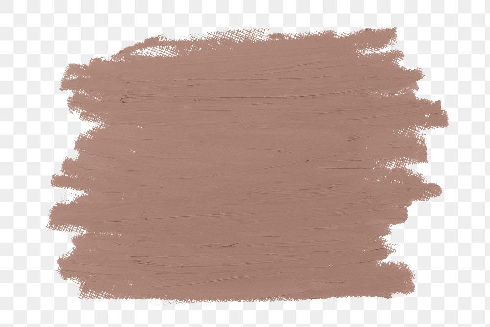 Pastel nude tan paint brush stroke texture badge background