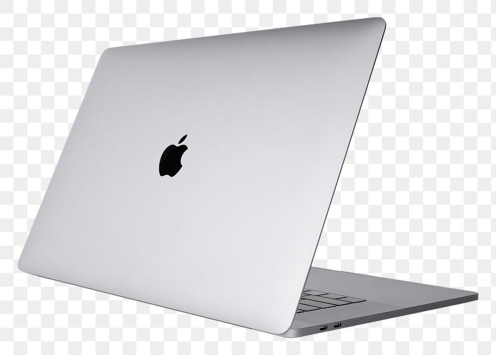 Apple MacBook Pro space grey mockup transparent background. SEPTEMBER 14, 2020 - BANGKOK, THAILAND