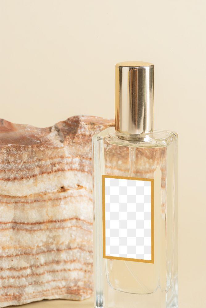Blank perfume glass bottle design element