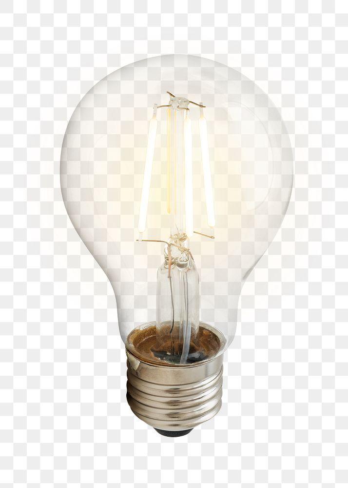 Edison light bulb design element
