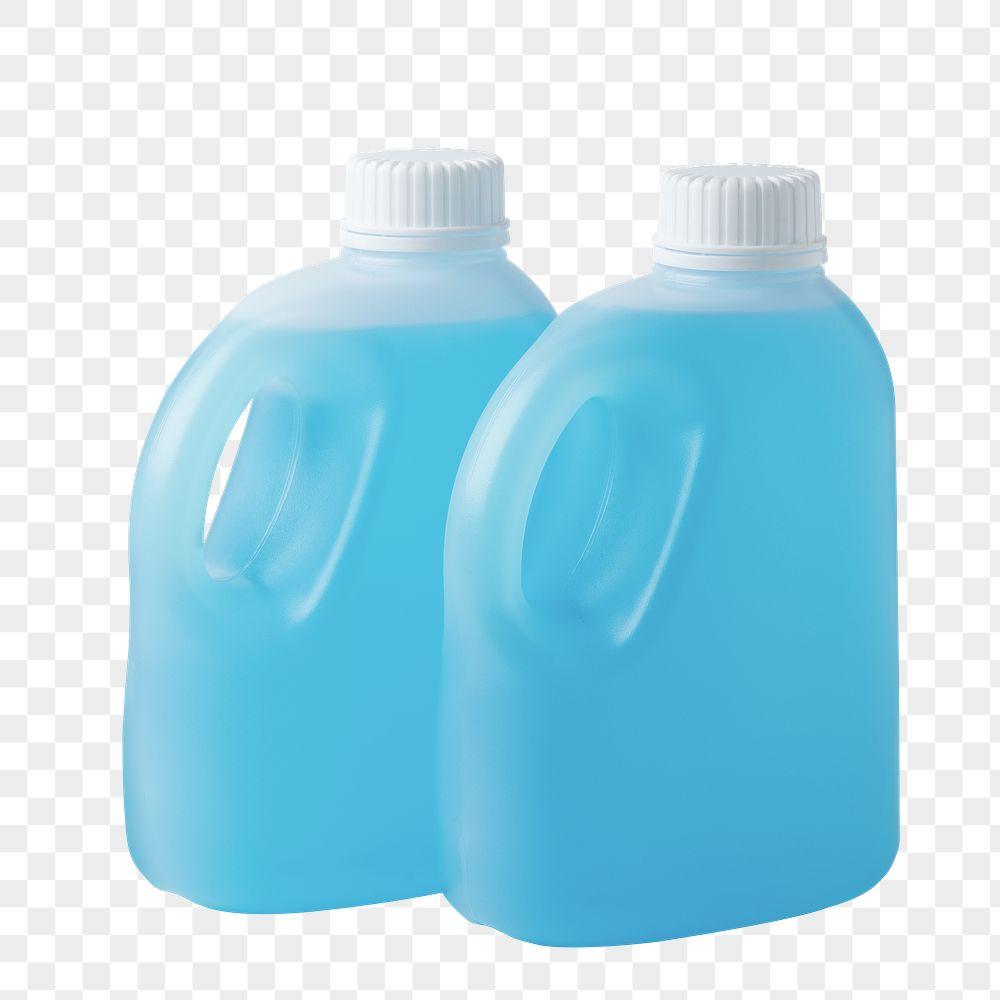 Two bottles of antibacterial hand sanitizer transparent png