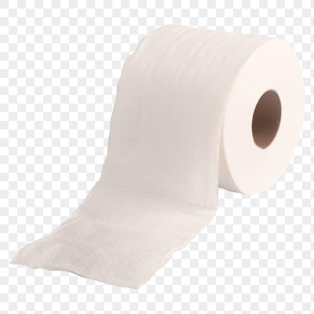 Tissue paper roll element transparent png