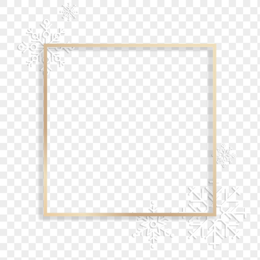 Blank square social ads template transparent png