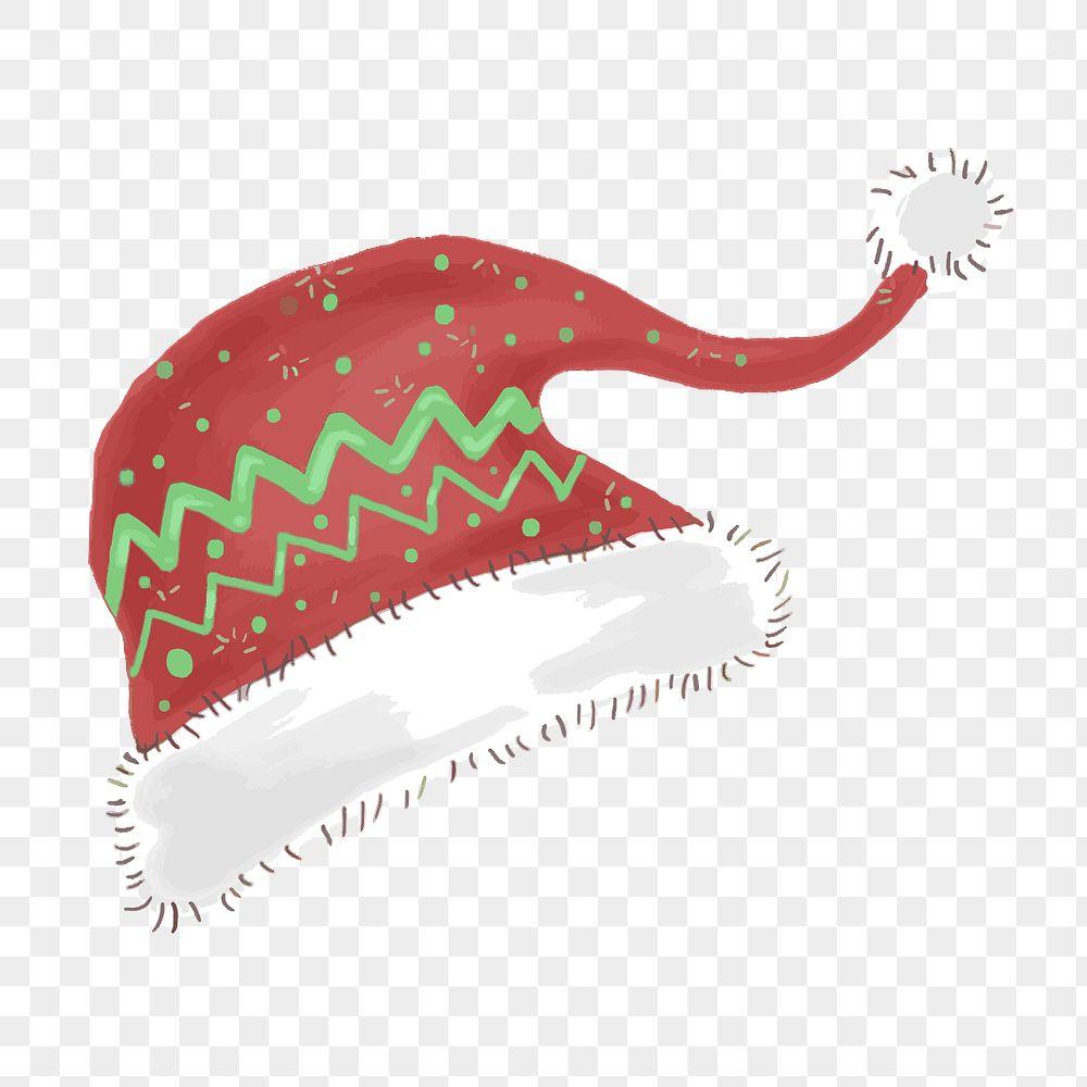 Santa Claus hat Christmas element