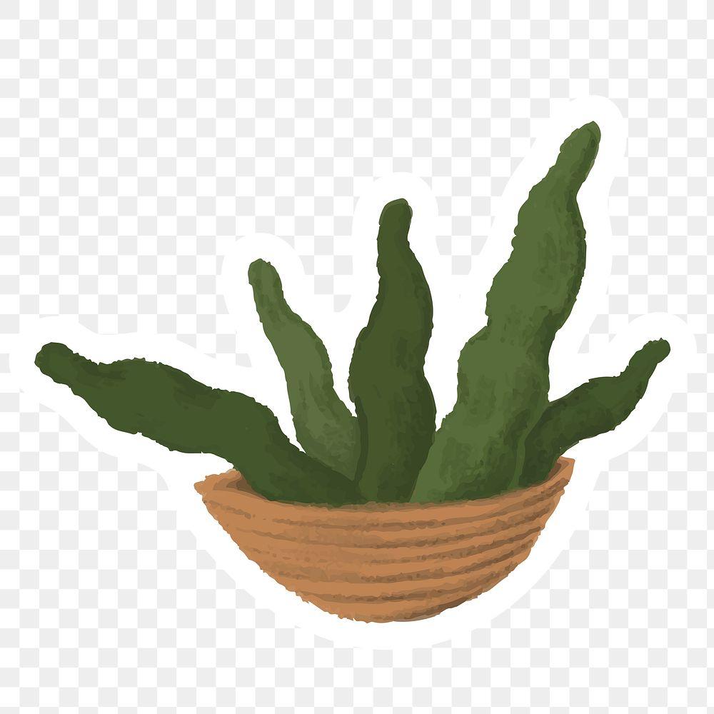 Indoor plants sticker