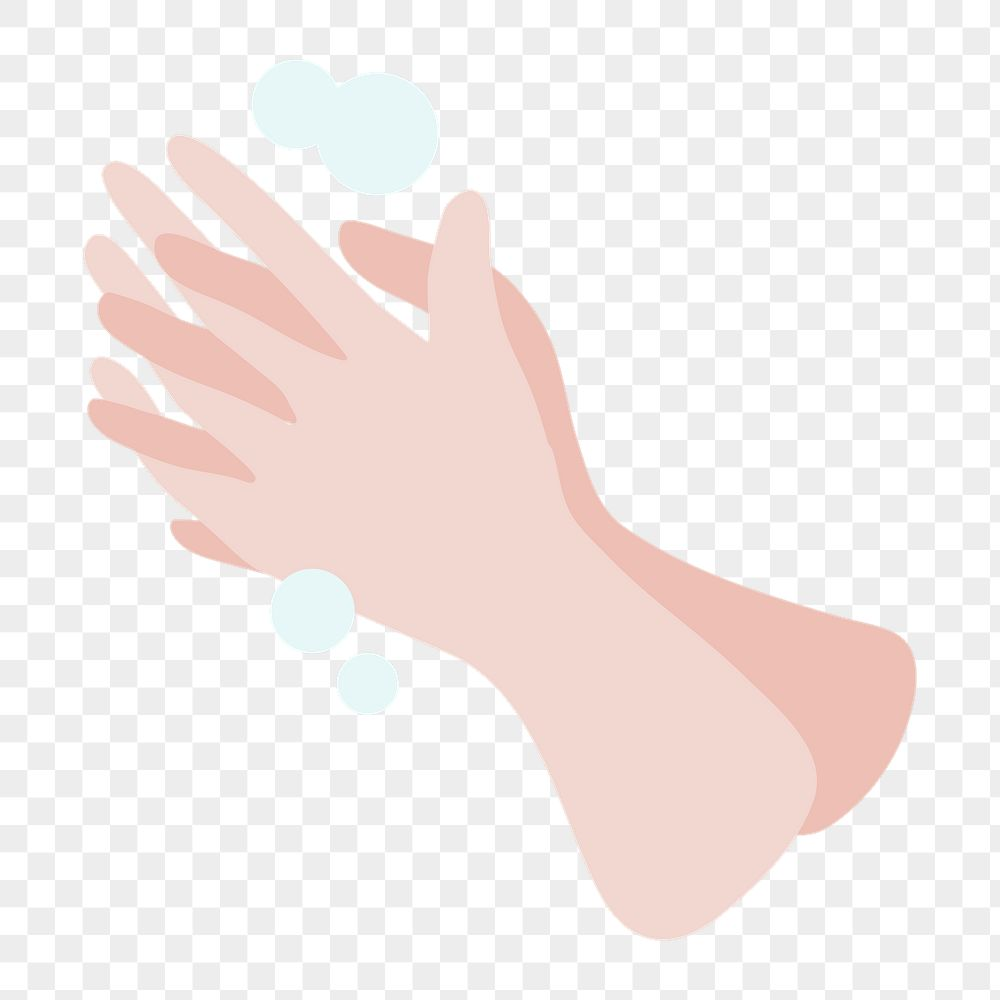 Wash your hands frequently to anti Coronavirus transparent png