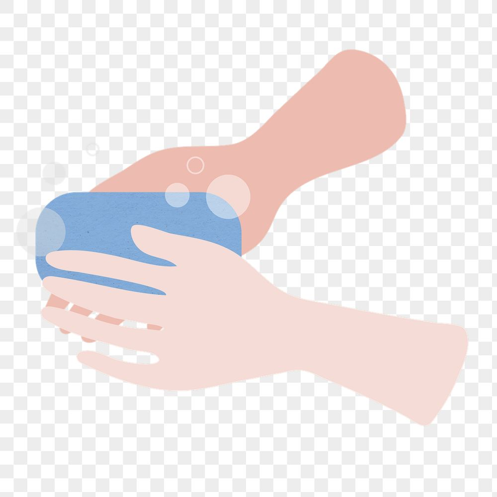 Washing your hands to prevent the spread of coronavirus transparent png